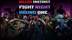 Killer Instinct Fight Night Round one Multiplayer