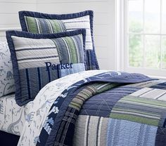 Pottery Barn Kids shares tips on decorating a boys room. Find boy bedroom design ideas that are creative and versatile. Pottery Barn Bedrooms, Pottery Barn Kids, Toddler Rooms, Baby Boy Rooms, Kids Rooms, Boys Room Decor, Kids Bedroom, Guy Bedroom, Bedroom Retreat