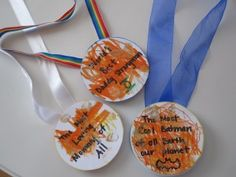 DIY Medals .... wouldn't mind one of these for Father's Day