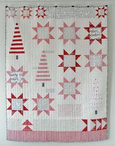 Helene Juul Design: Tør du tage udfordringen? Rød/hvid miniquilts konkurrence hos Helene Juul Design