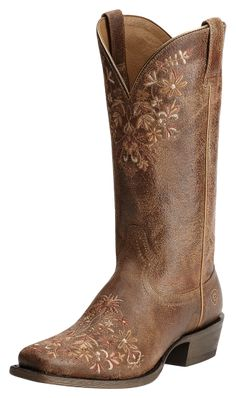 I think I need these! *Ariat Ardent Terra Brown Cowgirl Boots 10015332, Lammle's Western Wear & Tack
