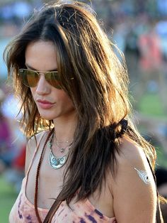 Flash Tattoos Sofia Tattoo Pack // As seen on Alessandra Ambrosio  #alessandraambrosio #flashtattoos #celebstyle #festivalstyle #coachella
