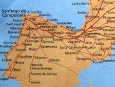 Camino de Santiago (Way of St.James) ~ Located in Spain it is a month(ish) long mecca that people travel for religious and other reasons.