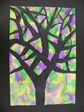 Artsonia Art Exhibit :: Eileen McGann inspired trees