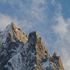 early snow on the north face of Aig. Du Peigne and Aig. des Pelerins, Chamonix (via Arc'teryx athlete Stian Hagen)