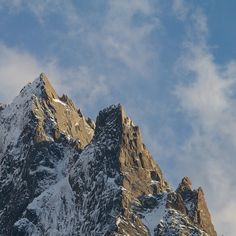 early snow on the north face of Aig. Du Peigne and Aig. des Pelerins, Chamonix (via Arc'teryx athlete Stian Hagen)