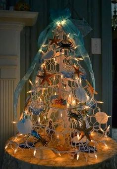 Hometalk :: Coastal Christmas Trees & Beach Christmas Trees -Reader Submissions