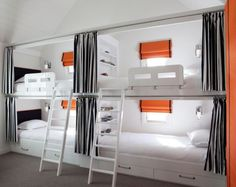 white-bunk-beds