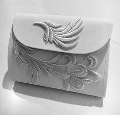 A fabulous bespoke clutch bag made for our beautiful bride Emma at her recent wedding!