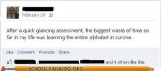 And So Science Continues On - School Fails