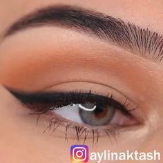 Doll Eye Makeup, Prom Eye Makeup, Eye Makeup Steps, Simple Eye Makeup, No Eyeliner Makeup, Skin Makeup, Makeup Tips, Good Eyeliner, How To Eyeliner