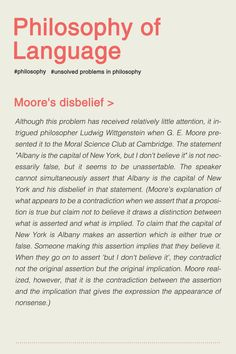 UNSOLVED PROBLEMS IN PHILOSOPHY. [4/8] #typography #typographyposter