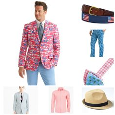 My favorite men's pieces for the 2017 Kentucky Derby!