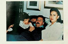 Pablo Escobar with his daughter Manuela Escobar and wife Maria Henao at La Catedral. Pablo Emilio Escobar, Pablo Escobar, Drug Cartel, My Dad, Mafia, Chapo, Buick, Coke, Mexico