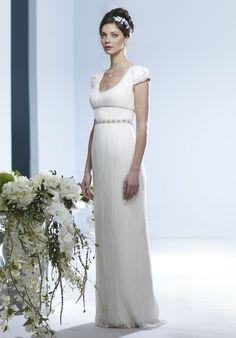 Jane Austen wedding dress! Monique Lullihier   Weddings   Pinterest ...