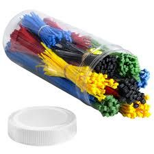 Cable Tie Kits - These kits contain the most popular sizes and colors of nylon cable ties. Available in Natural and Assorted quantity