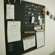 yuka.nさんの、収納,整理整頓,収納術,プリント,主張の激しい尿検査,マグネット,マスキングテープ,カレンダー,ニッチ,マグネットボード,壁/天井,のお部屋写真
