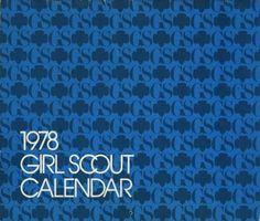 Girl Scouts 1978 calendar
