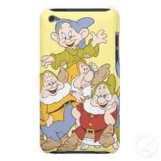 The Seven Dwarfs Barely There iPod Case  #Disney #SevenDwarfs #iPodCases $39.95