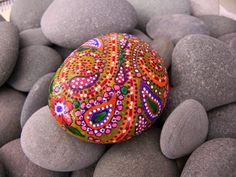 Happy Hippie Sunshine /Painted Rock / Sandi Pike Foundas