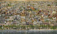 VEDUTE | Jean-Francois Rauzier - Barcelone Veduta, 2014