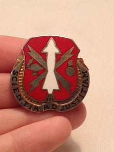 Scientia Ad Justitiam Pin by TheCharmingAttic on Etsy, $5.00