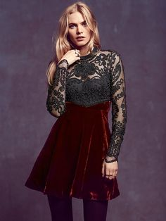 Free People Ginger Meadow Fit and Flare at Free People Clothing Boutique