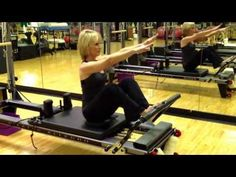Pilates Reformer Exercise Stomach Massage Twist - YouTube