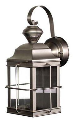 San Rafael II Mission Solar Pillar Candle Lantern modern outdoor ...