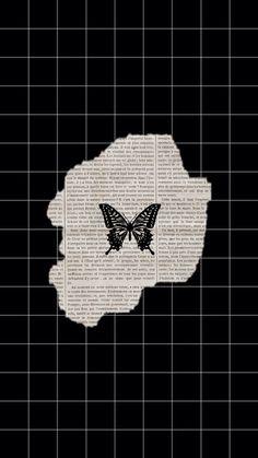 Butterfly Wallpaper Iphone, Ps Wallpaper, Cute Patterns Wallpaper, Funny Phone Wallpaper, Hipster Wallpaper, Iphone Background Wallpaper, Black Aesthetic Wallpaper, Aesthetic Iphone Wallpaper, Aesthetic Wallpapers