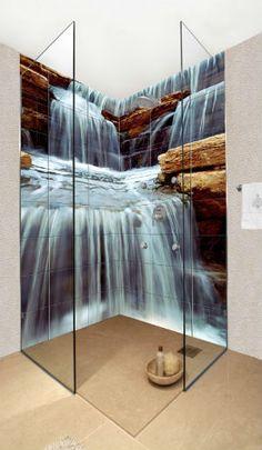 Trompe L Oeil Mural Interieur with Contemporain Toilettes   Trompe l ...