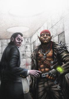 Shadowrun: Grim Gazes by *Spenzer777 on deviantART