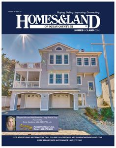 View the latest issue online of Homes & Land of Ocean County, NJ #homesandlandmagazine #realestate #homesforsale