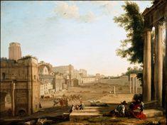 Claude Lorrain - View of the Campo Vaccino, Rome