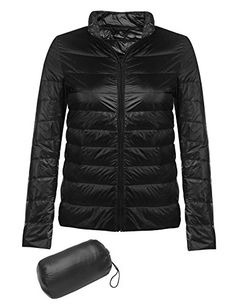 XPOSURZONE Women Packable Down Quilted Jacket Lightweight Puffer ... : down quilted coats - Adamdwight.com