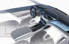 Hyundai India Showcases Tucson Design Sketches | CarDekho.com