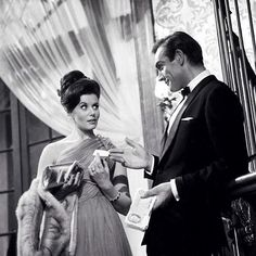 Dr. No - James Bond with Sylvia Trench.