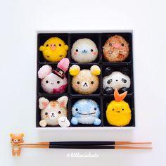 San X rice balls by Little Miss Bento Official (@littlemissbento)