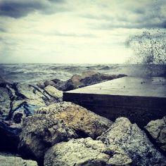 Mare in tempesta.