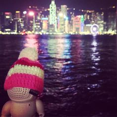 #whereareaudiobots #hongkong #starferry #tst #wanchai #pink #beanie #audiobotsrock #fashion #art #streetstyle #streetart #audio #tech #gadget