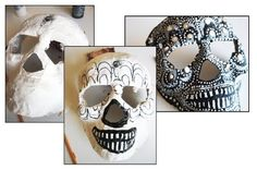 Skulls for Day of the Dead!