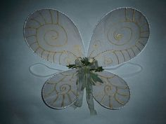 Fairy Butterfly Wings ∙ How To by Dada M. on Cut Out + Keep