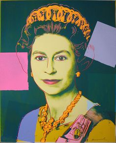 Queen Elizabeth | From a unique collection of prints and multiples at https://www.1stdibs.com/art/prints-works-on-paper/