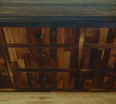 Wine Oak Dresser.