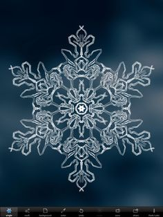 "snowflakes under the microscope | No two snowflakes are alike"" is a truism that Snowflakes ..."