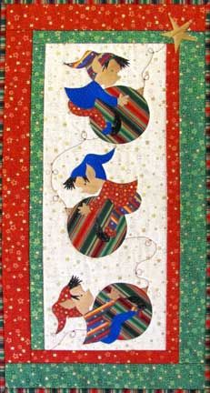 Elves at Play quilt pattern