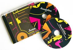 Design CD and illustration for Sendelica