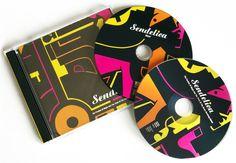 Design CD and illustration for Sendelica