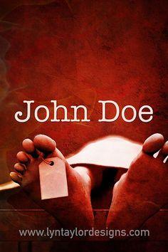 John Doe Pre-Designed Creative Concept Art  by Lyn Taylor Designs