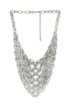 Cascading Chain Bib Necklace | FOREVER21 #Accessories